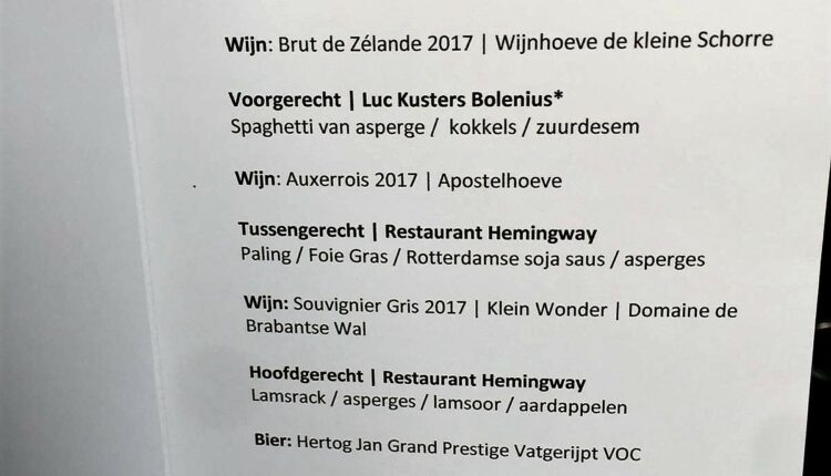Restaurant Hemingway - Grand Hotel de Draak - Bergen op Zoom - Dutch Cuisine - Bib Gourmande_8492