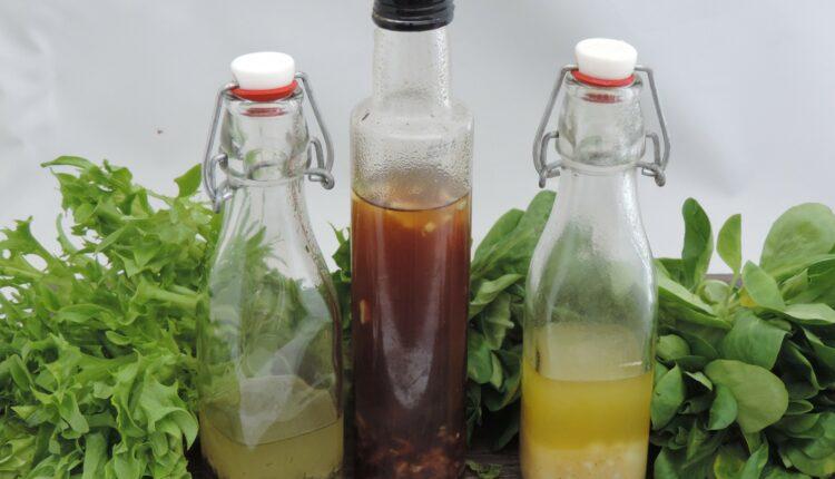 vinaigrette dressing olie