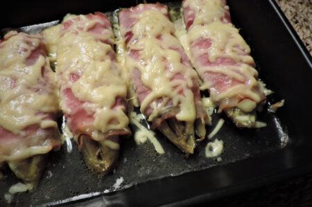 Witlof rolletjes met ham en kaas