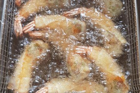 Scampi's frituren