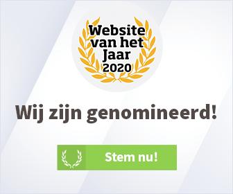 Lekker Tafelen Genomineerd voor website van het jaar 2020